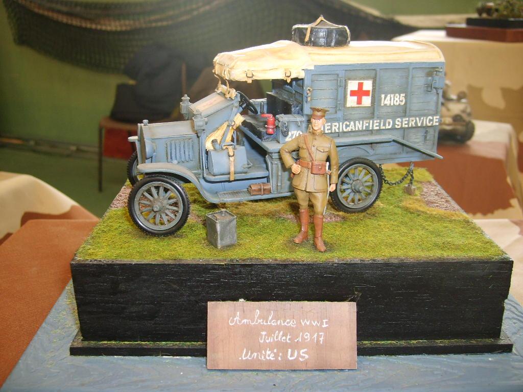 AMBULANCE FORD USA WWI
