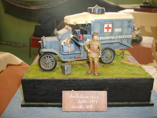 AMBULANCE FORD USA WWI
