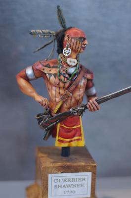 guerrier Shawnee 1770
