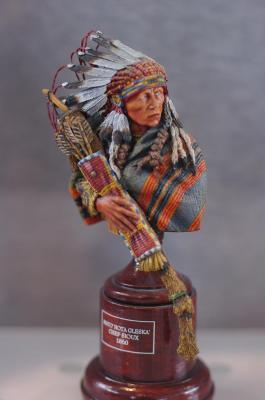 Mato'Hota Gleska' - Chef Sioux 1860